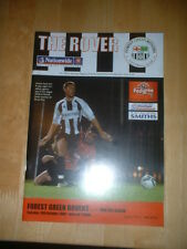 2006/7 FOREST GREEN ROVERS v BURTON ALBION -  CONFERENCE