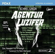 Agentur Luzifer * CD 9-teiliges Science-Fiction-Hörspiel von Michael Gaida Pidax