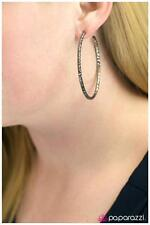 Lovely New Paparazzi Pierced Hoop Earrings