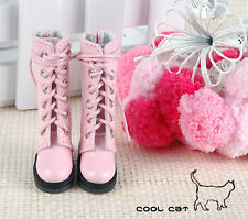 ☆╮Cool Cat╭☆【14-05】Blythe Pullip Doll Boots # Pink