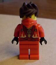 Lego Ninja Ninjago - Kai Rebooted ( rot Tuch braun Haar ) Neu