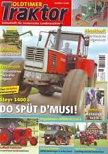 Oldtimer Traktor 11/14 Steyr 1400 a/Nuffield/Deutz F1/Balkenmähwerk/MWM RZ/2014