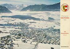 AK aus Saalfelden, Alpine Luftbild, Salzburg   (B17)
