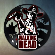 The Walking Dead 1C design vinyl record  wall clock home kids bedroom playroom