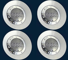 "Audi Wheel Center Cap TT A4 17"" 10 Spokes Wheel 8N0601165D 8E0601165M x4 Pcs"