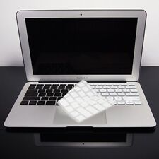 """WHITE Silicone Keyboard Cover for NEW Macbook Air 11"""""""