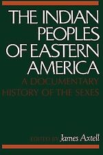The Indian Peoples of Eastern America: A Documentary History of the Sexes by