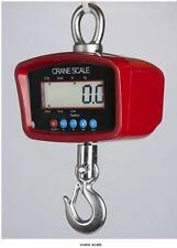 PS-CR-M-2000 Heavy Duty Crane Scale,Hanging Scale,Swivel, 2000X0.5 LB, NEW