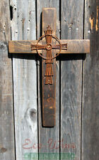 Cross made out of Wine Barrels, Handmade W/ Nails