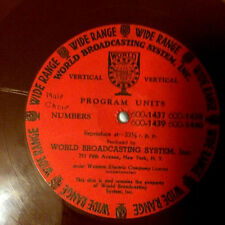1930's World Of Associated Dance Band Radio Transcriptions on CD