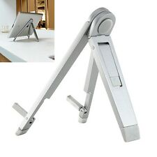 Aluminum Foldable Holder Desk Stand Mount For iPad 2 3 4 Air iPhone Tablet PC