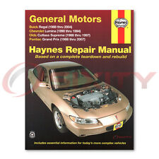 Pontiac Grand Prix Haynes Repair Manual GT2 SE Base GXP GT1 GTP STE LE zr