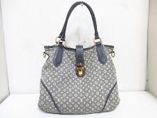 Authentic LOUIS VUITTON Monogram Idylle Elegie M56697 Encre Shoulder Bag