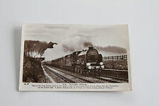 OLD RAILWAY POSTCARD - S.R. GOLDEN ARROW TRAIN NO.47