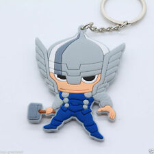 New Marvel The Avengers  Thor with Hammer Rubber Silicone Keychain