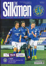 2013/14 MACCLESFIELD TOWN V HYDE 26-12-2013 Skrill Premier (Mint)