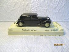 Solido Citroën traction 15 CV , SOLIDO L'age d'or réf 4032