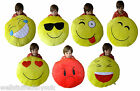 "Huge Giant Massive Large Emoji Emoticon Cushion Pillow 50cm 20"" Quality Branded"