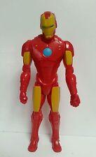 """IRON MAN: 12"""" Action Figure, Marvel, HASBRO, 2014, plastica, da collezione, Avenger"""