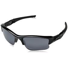 Oakley Flak Jacket XLJ Mens Sunglasses Jet Black Frame Black Iridium Lens 03-915