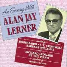 An Evening With Alan Jay Lerner, Lerner, Alan Jay, Very Good Live, Cast Recordin