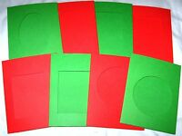 APERTURE CARDS CHRISTMAS 3 FOLD WITH ENVELOPES YOU PICK SIZE & COLOURS