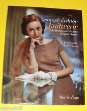Vintage Fashion Knitwear New 2010 History 1920s,30s,40s to 1990s Great Pics See!