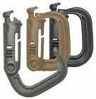 Maxpedition Grimloc D-Rings Carabiner / 4 Pack   BLACK