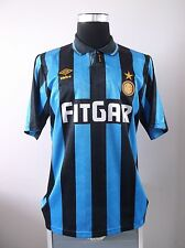Inter Milan Home Football Shirt Jersey 1991/92 (L)