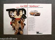 O843 - Advertising Pubblicità -1971- FIAT 124 SPECIAL T , BIALBERO