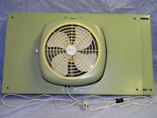 Vintage In - Window Reversible Fan,  Avocado Green -  Expands from 25 to 30""