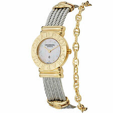 Charriol Women's St Tropez Diamond Dial Two-tone Watch 028C.540.326