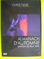 DVD RARE  ALMANACH D AUTOMNE   un film de Bela TARR   v.o sous titrée Français.