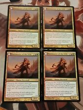 Mtg Magic the gathering Dark Ascension Huntmaster of The Fells X4 NM