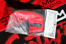Scotty Cameron Headcover - PUTTER - SUPERCAR BLACK / RED - LIMITED - BRAND NEW