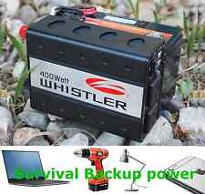 Backup power Portable Power Kit Survival Battery Buddy camping 400-Watt New