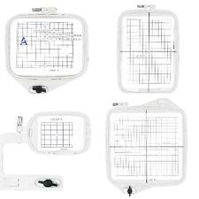 Set of 4 Hoops Janome Memory Craft MC 9500 9700 10000 10001 Embroidery Machine