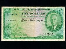 British Caribbean Ter.:P-3,5$,1951 * King George VI *