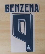 * 15 / 16-Real Madrid De Plástico Casa nombre bloque / Benzema 4 = Adultos Y Niños *