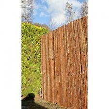 Sichtschutz Zaun Garten Weidenmatte Rindenmatte Bambusmatte Schilfrohrmatte Roll