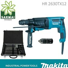 Makita HR2630TX12 TRAPANO TASSELLATORE 800W KIT ACCESSORI SDS PLUS MARTELLO