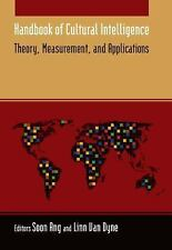Handbook of Cultural Intelligence: Theory Measurement and Application-ExLibrary