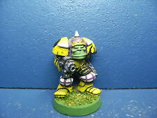 RAR! Alter Ork Boss in Megarüstung / eavy Armour der Space Orks BEMALT 10