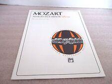 MOZART~ADAGIO IN B MINOR for the Piano~Alfred Publisher 1993
