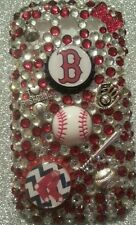 Boston Red Sox MLB bling case 4 iPhone 4s,5,5s,5c,6,Samsung Galaxy S3,S4&S5