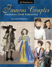 FAMOUS COUPLES FASHION DOLL SEWING PATTERNS BOOK MALE & FEMALE Gene Tyler Trent