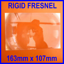 Rigid Fresnel Lens Sheet Magnifier Magnifying Glass 163 x 107mm
