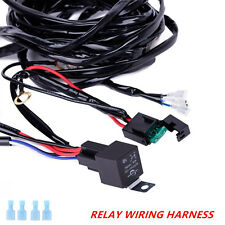 12V 24V LED Light Bar Work Light Wiring Harness Control Car ATV Jeep SUV Switch