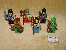LEGO Sets: Castle: Supplemental: 6103-1 Castle Mini Figures (1988) 100% RETRO