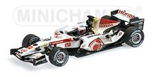 MINICHAMPS 400 060412 HONDA RA106 F1 model car J Button Hungary GP 2006 1:43rd